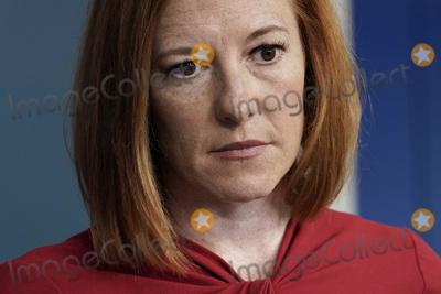 Photos From Jen Psaki daily press briefing - Washington