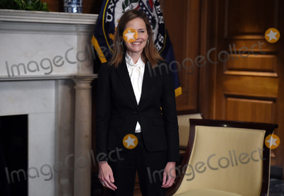Photos From Amy Coney Barrett Capitol Hill Courtesy Call Roger Wicker