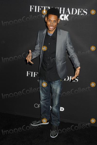 Alphonso Mcauley Photo - 26 January 2016 - Los Angeles California - Alphonso McAuley Fifty Shades of Black Los Angeles Premiere held at Regal Cinemas LA Live Photo Credit Byron PurvisAdMedia