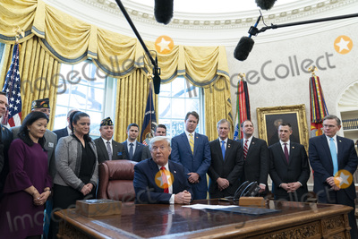 Photos From President Donald J. Trump participates in a signing ceremony for S. 153, The Supporting Veterans in STEM Careers Act