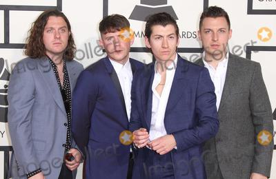Arctic Monkeys Photo - 08 February 2015 - Los Angeles California - Nick OMalley Jamie Cook Alex Turner and Matt Helders Arctic Monkeys57th Annual GRAMMY Awards held at the Staples Center Photo Credit AdMedia