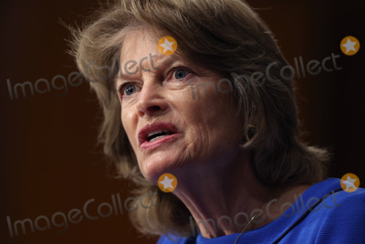 alaska Photo - WASHINGTON DC - APRIL 20 United States Senate Appropriations Committee member US Senator Lisa Murkowski (Republican of Alaska) questions members of the Biden administration during a hearing in the Dirksen Senate Office Building on Capitol Hill on April 20 2021 in Washington DC Biden cabinet members including Transportation Secretary Pete Buttigieg testified about the American Jobs Plan the administrations 23 trillion infrastructure plan that has yet to win over a single Republican in Congress Credit Chip Somodevilla   Pool via CNP