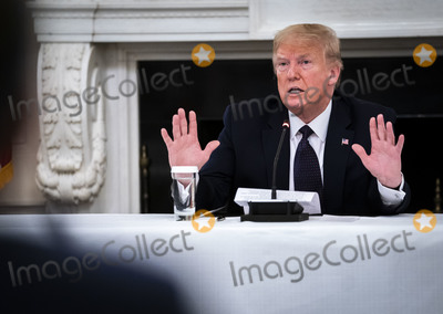 Photo - Donald Trump Reveals he is taking Hydroxychloroquine Prophylaxis
