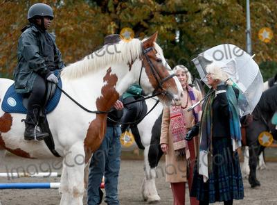 Photo - Camilla Duchess of Cornwall visits Ebony Horse Club in Brixton