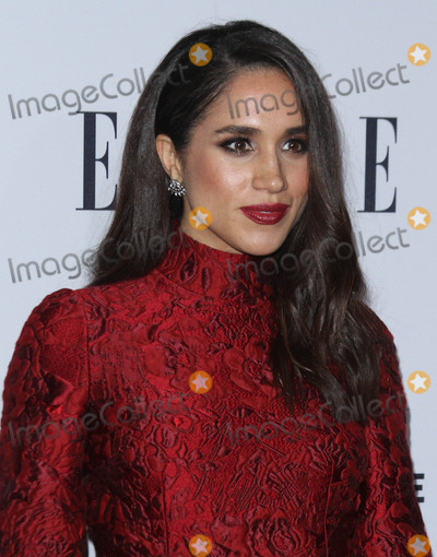Photo - 20 January 2016 - Los Angeles California - Meghan Markle ELLEs Women In Television Celebration presented by Hearts on Fire Diamonds and Olay held at the Sunset Tower Hotel Photo Credit AdMedia