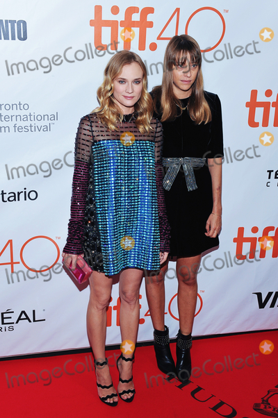 Alice Winocour Photo - 17 September 2015 - Toronto Ontario Canada - Diane Kruger Alice Winocour Disorder Premiere during the 2015 Toronto International Film Festival held at Roy Thomson Hall Photo Credit Brent PerniacAdMedia