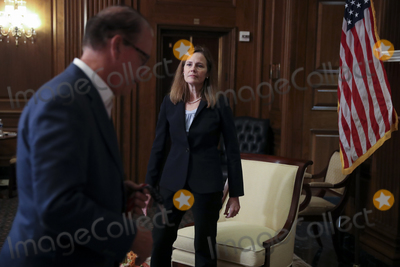 Photos From Amy Coney Barrett Capitol Hill Courtesy Call Mike Braun
