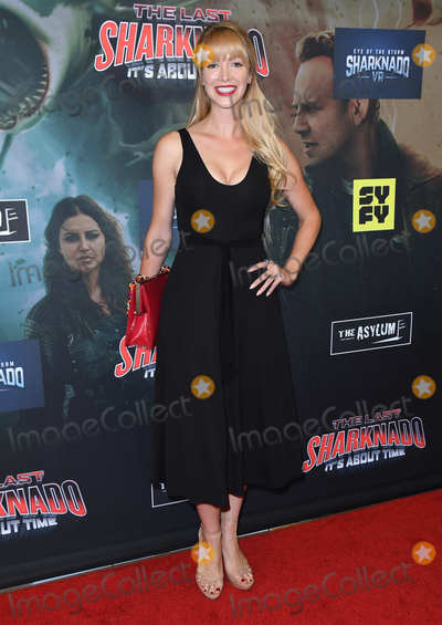 Amanda Wagner Photo - 19 August 2018 - Playa Vista California - Amanda WagnerThe Last Sharknado Its About Time Los Angeles Premiere held at Cinemark - Playa Vista Photo Credit Birdie ThompsonAdMedia