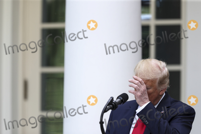 Photo - United States President Donald J Trump speaks during an event on Protecting Seniors with Diabetes in the Rose Garden of the White House on May 26 2020 in Washington DCCredit Oliver Contreras  Pool via CNPAdMedia