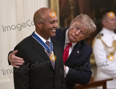 Photos From Donald Trump Presents Medall of Freedom to Mariano Rivera