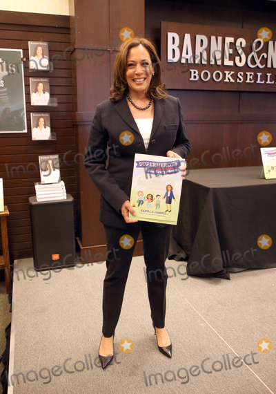 Photos From Kamala Harris Signs Copies Of Her New Book 'Superheros Are Everywhere'