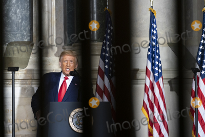 Photos From President Trump Remarks at the White House Conference on American History