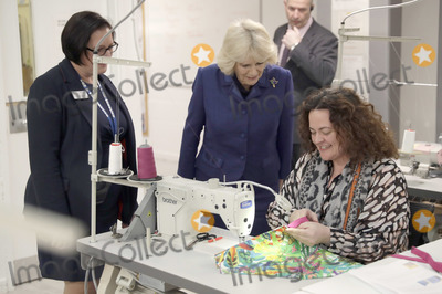 Photos From Camilla Duchess of Cornwall  Visits Her Majestys Prison Downview