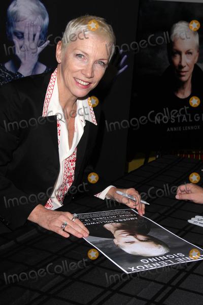 Photos From Annie Lennox Signs 'Nostalgia'