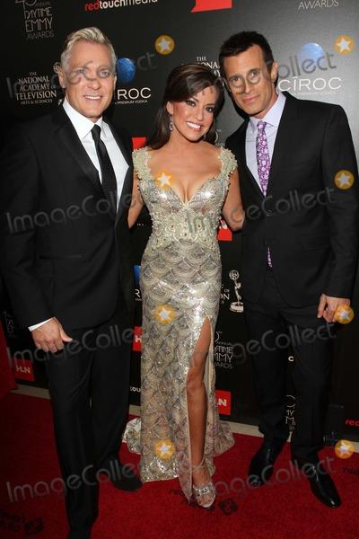 AJ Hammer Photo - Sam Champion Robin Mead and AJ Hammerat the 40th Annual Daytime Emmy Awards Beverly Hilton Hotel Beverly Hills CA 06-16-13