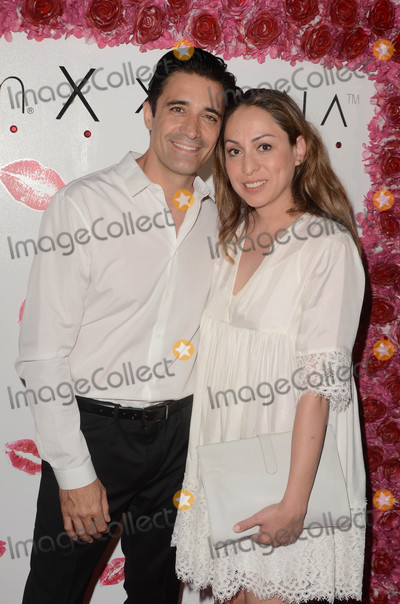 Photo - Gilles Marini Jenny Leeserat the launch of Karina Smirnoffs Karina Collection with LA Splash Cosmetics at the Sofitel Los Angeles at Beverly Hills CA 08-21-17