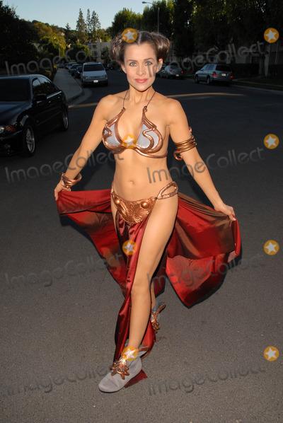 Alicia Arden Photo - Halloween Costume of the Year - Slave Leia