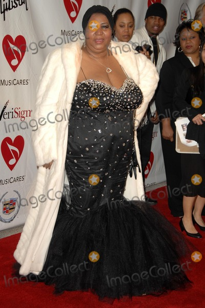 Aretha Franklin Photo - Aretha Franklin at the 2008 MusiCares Person Of The Year Awards Honoring Aretha Franklin Los Angeles Convention Center Los Angeles CA 02-08-08