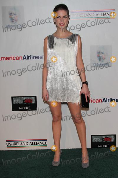 Amy Huberman Photo - Amy Hubermanat US Ireland Alliance Oscar Wilde Honors Bad Robot Santa Monica CA 02-23-12