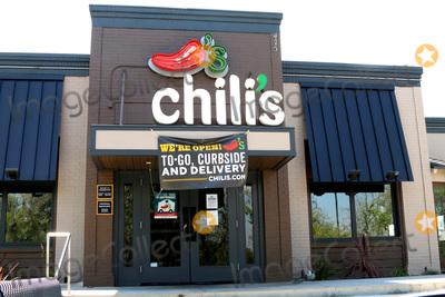 San Bernardino Photo - LOS ANGELES - APR 11  Chilis at the Businesses reacting to COVID-19 at the Hospitality Lane on April 11 2020 in San Bernardino CA