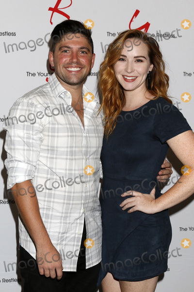 Photo - LOS ANGELES - AUG 19  Robert Adamson Camryn Grimes at the Young and Restless Fan Event 2017 at the Marriott Burbank Convention Center on August 19 2017 in Burbank CA