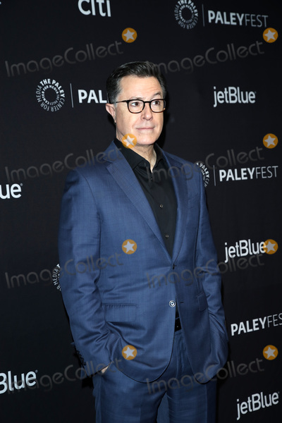 Photo - LOS ANGELES - MAR 16  Stephen Colbert at the PaleyFest - An Evening With Stephen Colbert Event at the Dolby Theater on March 16 2019 in Los Angeles CA