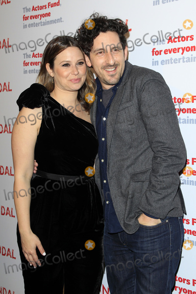 Adam Shapiro Photo - LOS ANGELES - APR 19  Katie Lowes Adam Shapiro at the The Actors Funds Scandal Finale Live Stage Reading on the El Capitan Theater on April 19 2018 in Los Angeles CA