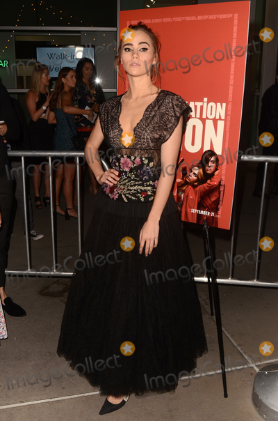 Photo - LOS ANGELES - SEP 12  Suki Waterhouse at the Assassination Nation Los Angeles Premiere at the ArcLight Theater on September 12 2018 in Los Angeles CA