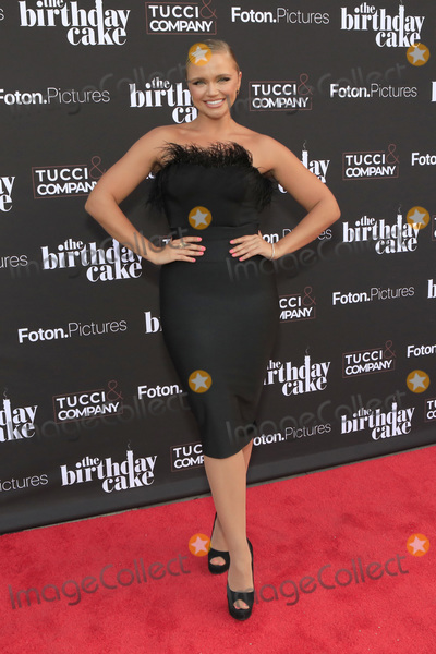 Photo - LOS ANGELES - MAR 24  Veronika Dash at The Birthday Cake LA Premiere at the Fine Arts Theater on March 24 2021 in Beverly Hills CA