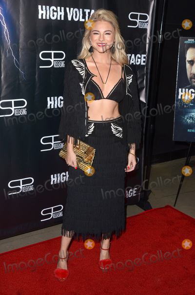 Allie Gonino Photo - LOS ANGELES - OCT 16  Allie Gonino at the High Voltage Los Angeles Red Carpet Premiere at the TCL Chinese 6 Theater on October 16 2018 in Los Angeles CA