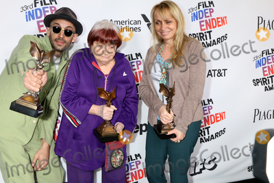 Agnes Varda Photo - LOS ANGELES - MAR 3  JR Agnes Varda Rosalie Varda_ at the 2018 Film Independent Spirit Awards at the Beach on March 3 2018 in Santa Monica CA