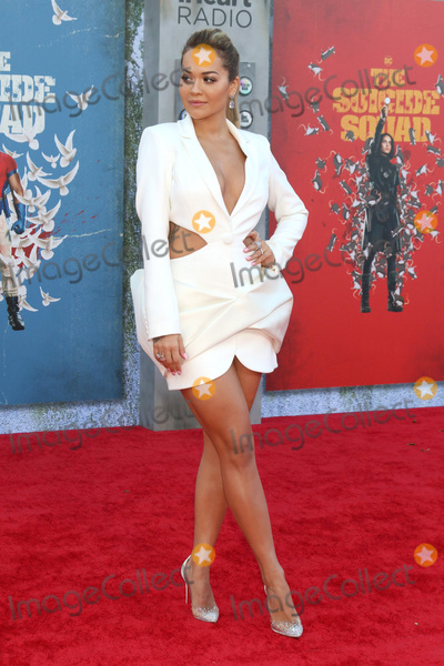 Photo - LOS ANGELES - AUG 2  Rita Ora at the The Suicide Squad Premiere at the Village Theater on August 2 2021 in Westwood CA