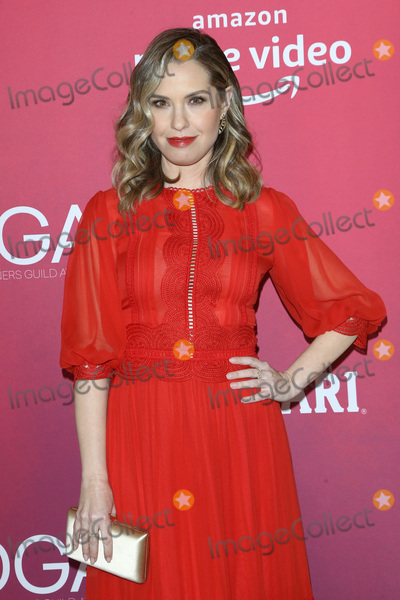 Photo - LOS ANGELES - FEB 19  Leslie Grossman at the 2019 Costume Designers Guild Awards at the Beverly Hilton Hotel on February 19 2019 in Beverly Hills CA