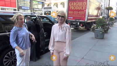 Photo - Photo by gotpapstarmaxinccomSTAR MAX2017ALL RIGHTS RESERVEDTelephoneFax (212) 995-119692517Anne Heche visits The Empire State Building in New York City