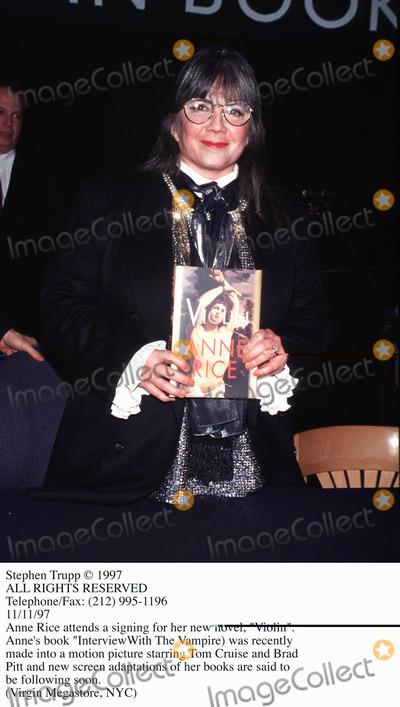 Ann Rice Photo - Photo by Stephen TruppSTAR MAX Inc - copyright 1997Anne Rice