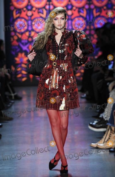 Photos From Gigi Hadid and Bella Hadid at Fashion Week - 2/12/18
