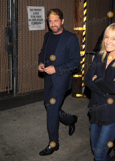 Photos From Gerard Butler is seen in Los Angeles