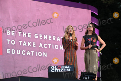 Bridget Moynahan Photo - Photo by John NacionstarmaxinccomSTAR MAX2018ALL RIGHTS RESERVEDTelephoneFax (212) 995-119692918Amber Heard and Bridget Moynahan at the 2018 Global Citizen Festival Be The Generation in Central Park in New York City