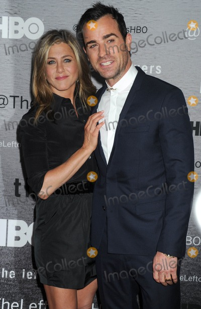 Photo - Photo by Dennis Van TinestarmaxinccomSTAR MAX2014ALL RIGHTS RESERVEDTelephoneFax (212) 995-119662314Jennifer Aniston and Justin Theroux at the premiere of The Leftovers(NYC)