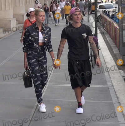 Photo - Photo by gotpapstarmaxinccomSTAR MAX2018ALL RIGHTS RESERVEDTelephoneFax (212) 995-11967618Hailey Baldwin and Justin Bieber are seen in New York City