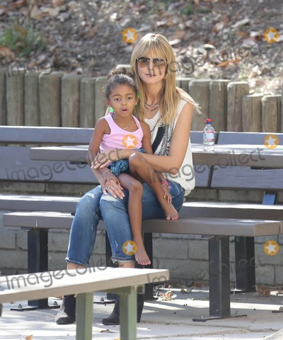 Photos From Heidi Klum and her daughter Lou Samuel out and about
