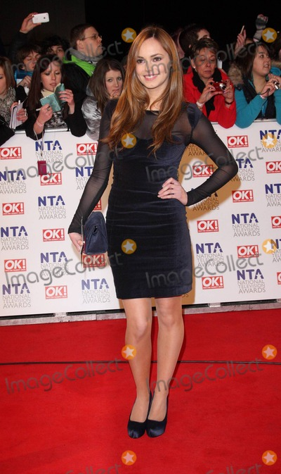 Hannah Tointon Photo - National TV Awards