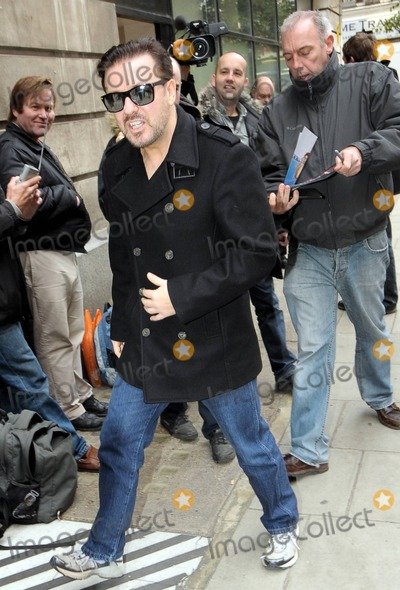 Photos From Ricky Gervais BBC
