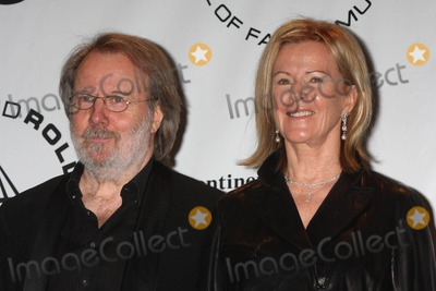 Anni-Frid Lyngstad Photo - BENNY ANDERSSON and ANNI-FRID FRIDA LYNGSTAD PRINSESSAN REUSS of ABBA at the 25th annual induction ceremony of The Rock and Roll Hall of Fame Foundation at The Waldorf-Astoria in New York City on 03-15-2010  Photo by Henry McGee-Globe Photos Inc 2010K64883HMc