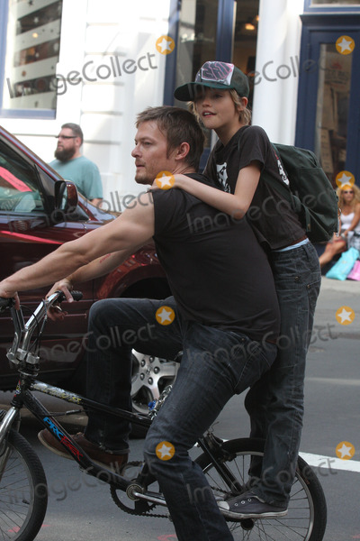 Norman Reedus Helena Christensen Mingus Photo