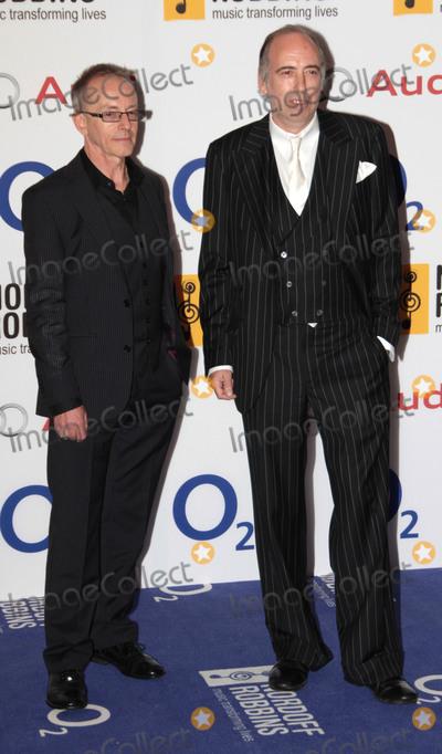 Topper Headon Photo - Jun 28 2013 - London England UK - Nordoff-Robbin Silver Clef Awards 2013 at the Park Lane HotelPhoto Shows Topper Headon (L) and Mick Jones from The Clash