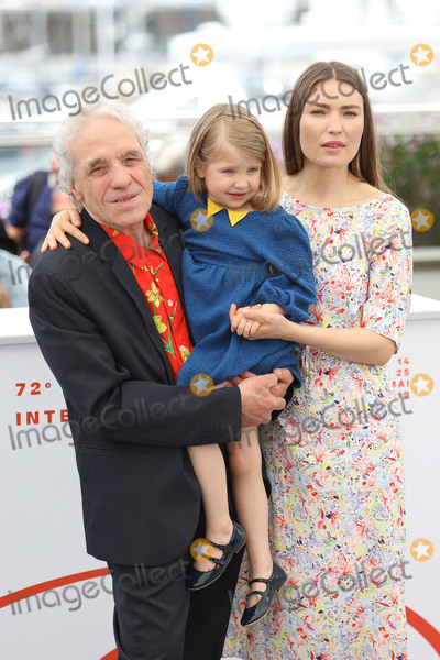Abel Ferrara Photo - CANNES FRANCE - MAY 20 Abel Ferrara Cristina Chiriac Anna Ferrara attend the photocall for Tommaso during the 72nd annual Cannes Film Festival on May 20 2019 in Cannes France (Photo by Laurent KoffelImageCollectcom)