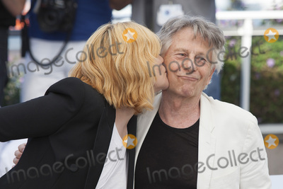 Roman Polanski Photo - CANNES FRANCE - MAY 27 Director Roman Polanski and actress Emmanuelle Seigner attend the Based On A True Story photocall during the 70th annual Cannes Film Festival at Palais des Festivals on May 27 2017 in Cannes France(Photo by Laurent KoffelImageCollectcom)