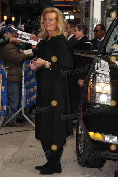 ANN ROMNEY Photo - Politician Mitt Romney and his wife Ann Romney made an appearance at the Late Show With David Letterman at the Ed Sullivan Theater on March 2 2010 in New York City