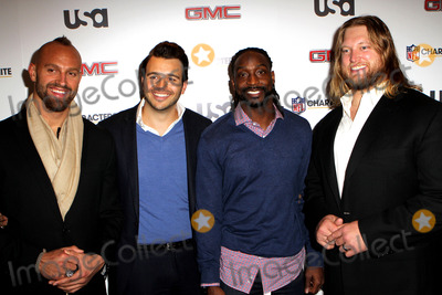 Mark Herzlich Photo - January 30 2014 New York CityL-R) Mark Herzlich Charlie Ebersol Charles Tillman and Nick Mangold at the 3rd Annual NFL Characters Unite at Sports Illustrated on January 30 2014 in New York City
